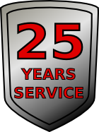 25 Years Service